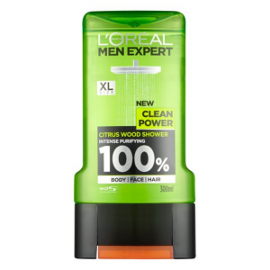 L'Oréal Men Expert Clean Power Shower Gel – 300 Ml